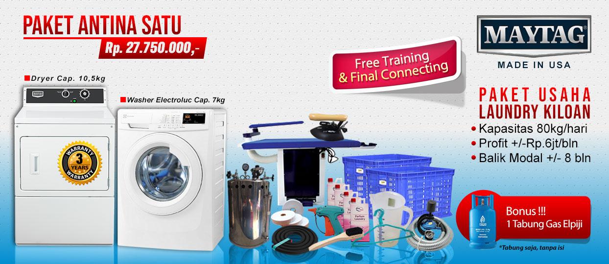 paket-antina-1 Harga mesin cuci koin | Mesin Laundry Koin | Stack Koin Laundry