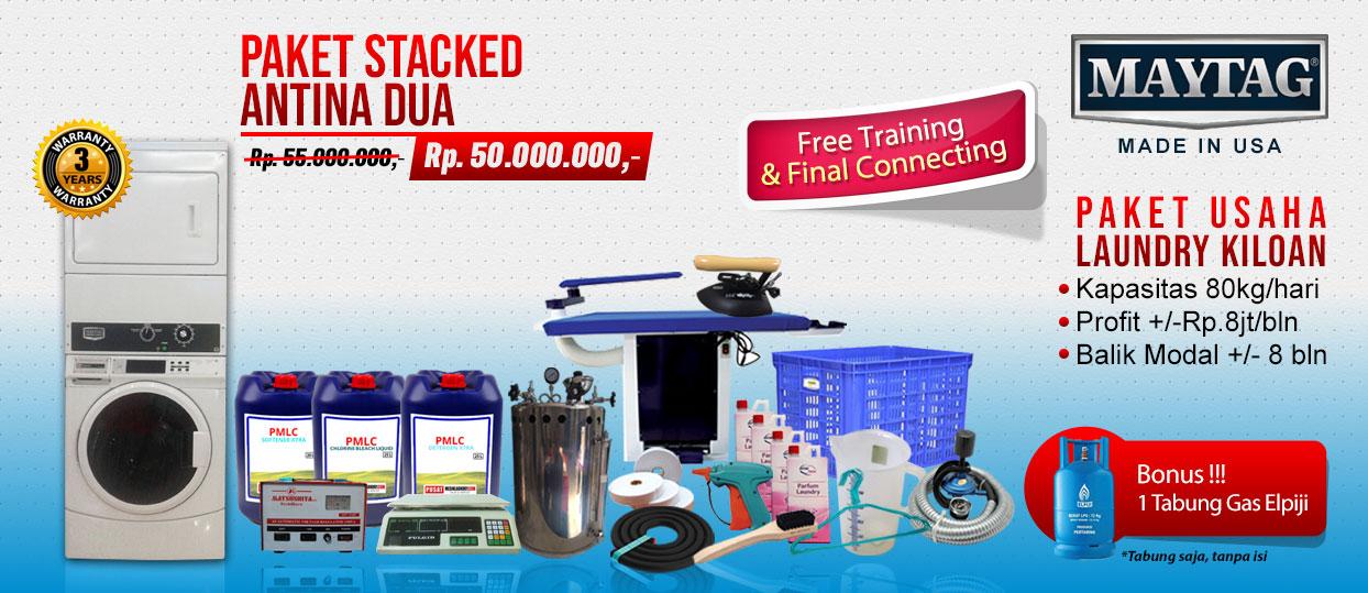 paket-antina-2 Harga mesin cuci koin | Mesin Laundry Koin | Stack Koin Laundry