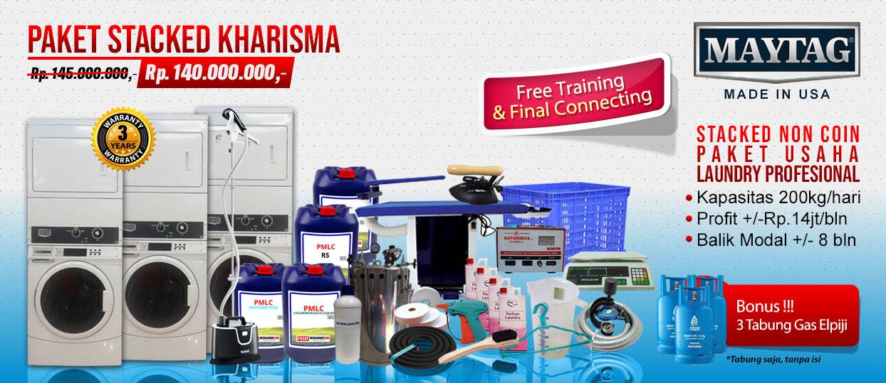 paket-kharisma Harga mesin cuci koin | Mesin Laundry Koin | Stack Koin Laundry